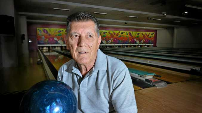 OVER: Heinz Chmielewski part of the Gympie Eagles Tenpin Bowling team says his club was forced to fold after 20 years of play.