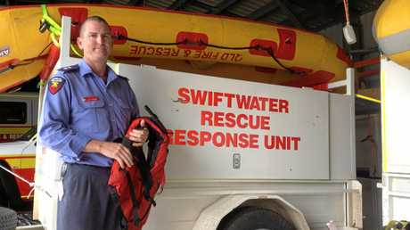 Mackay Station officer Matt Geiger and his crew were involved in the rescue overnight in Calen.