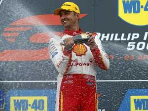 Fabian Coulthard wins bizarre race at Phillip Island 500