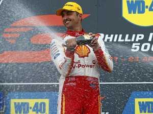 Fabian Coulthard wins bizarre race at Phillip Island 500