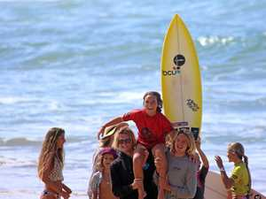 Hot finish to Oz Grom Cup