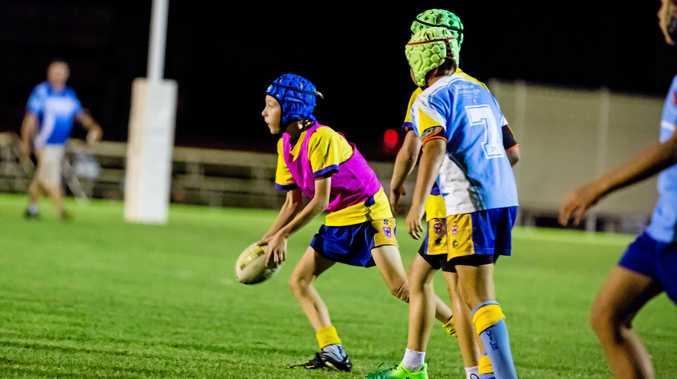 Rugby League, Jack Merton Eels vs Titans U/12