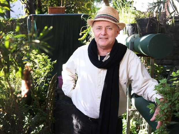 Sustainability Coach Michael Mobbs gives tours of his sustainable home in Chippendale.
