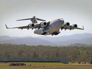 RAAF Globemaster to fly as low as 150m over Ipswich Show