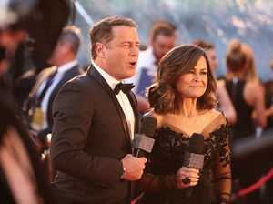 MELBOURNE, AUSTRALIA - APRIL 23: Karl Stefanovic and Lisa Wilkinson arrive at the 59th Annual Logie Awards at Crown Palladium on April 23, 2017 in Melbourne, Australia. (Photo by Scott Barbour/Getty Images)