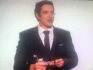 Samuel Johnson wins Best Actor at 2017 Logies.