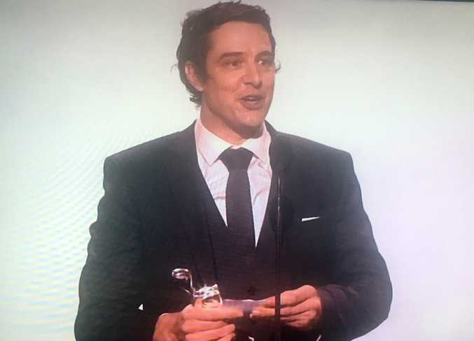 Samuel Johnson wins Best Actor at 2017 Logies.