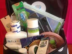 Comforting kits for during breast cancer treatment