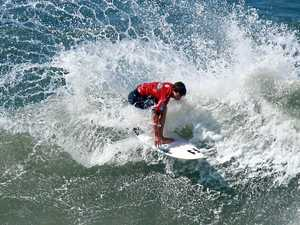 Reef shows poise to win hometown Pro Junior event
