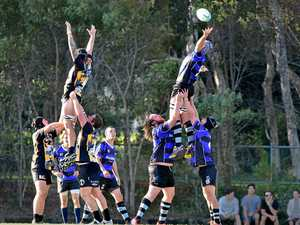 IN ACTION. Caloundra and Maroochydore in a previous outing.