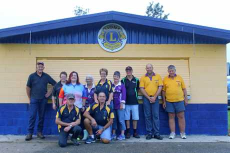 Sarina Lions Club sold food and drinks during the Sarina Relay for Life to raise money for the Cancer Council.