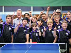 Table tennis titles brings state's best players to town