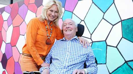 Kerry-Anne Kennerley and her husband John.