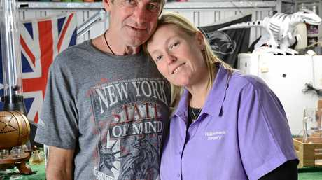 A LOVING FATHER: Sasha Sandford has described her father John Morgan as a man who has never asked for anything in his life.