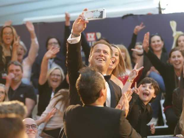 After famously being accused of being a little worse for wear at previous Logies, Karl Stefanovic reckons he is staying sober because his