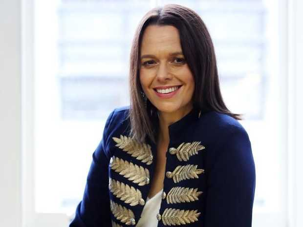 'There is not a single thing about my life or experiences that have been remarkable,' says Mia Freedman, pictured at her Surry Hills Office.