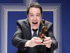 Logies 2017: Meldrum's odd speech as Samuel Johnson wins Gold