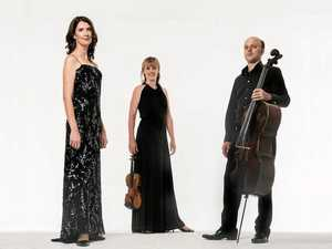 SERAPHIM TRIO: Anna Goldsworthy, Helen Ayres and Timothy Nankervis  perform on May 7.