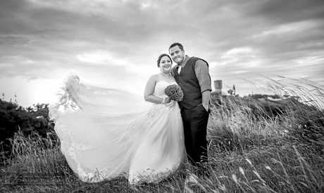 IN LOVE: Newlyweds Mr and Mrs Noton tied the knot on March 25 2017.