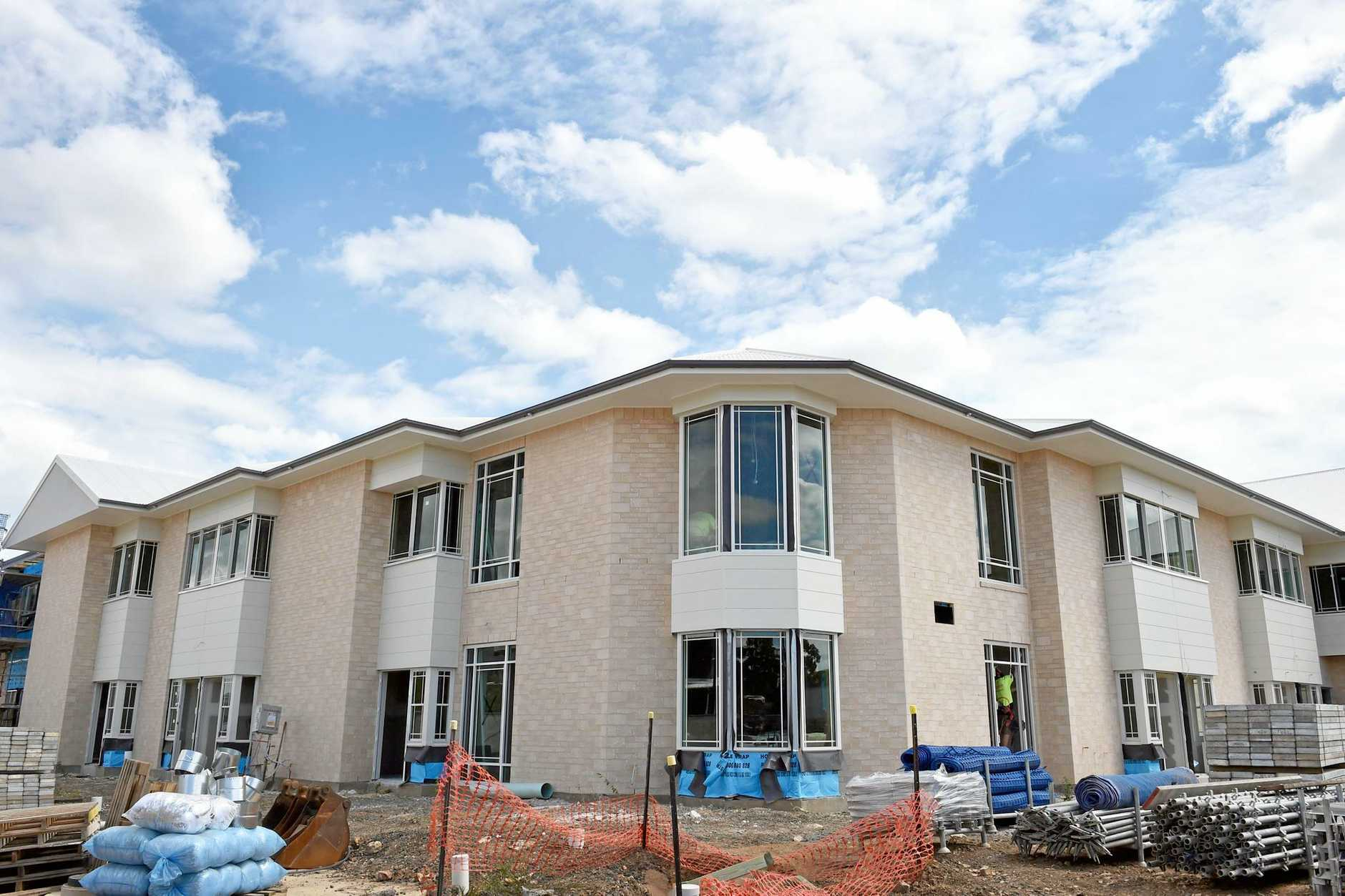 NEW FACILITIES: Premier Health Care are building a new aged care across from St Stephen's Private Hospital, Hervey Bay.