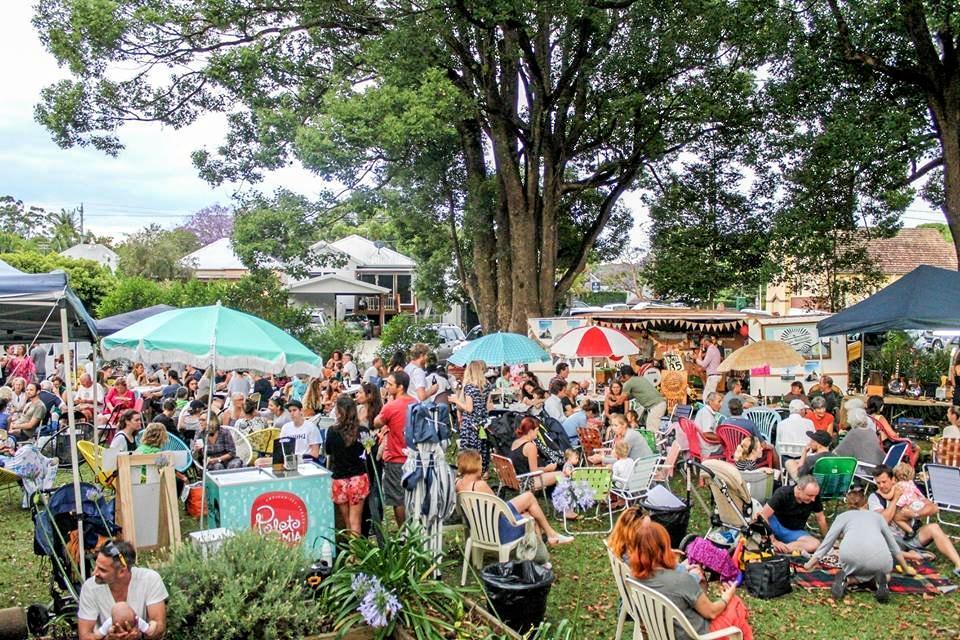 FUN DAY: Byron Bay food markets.