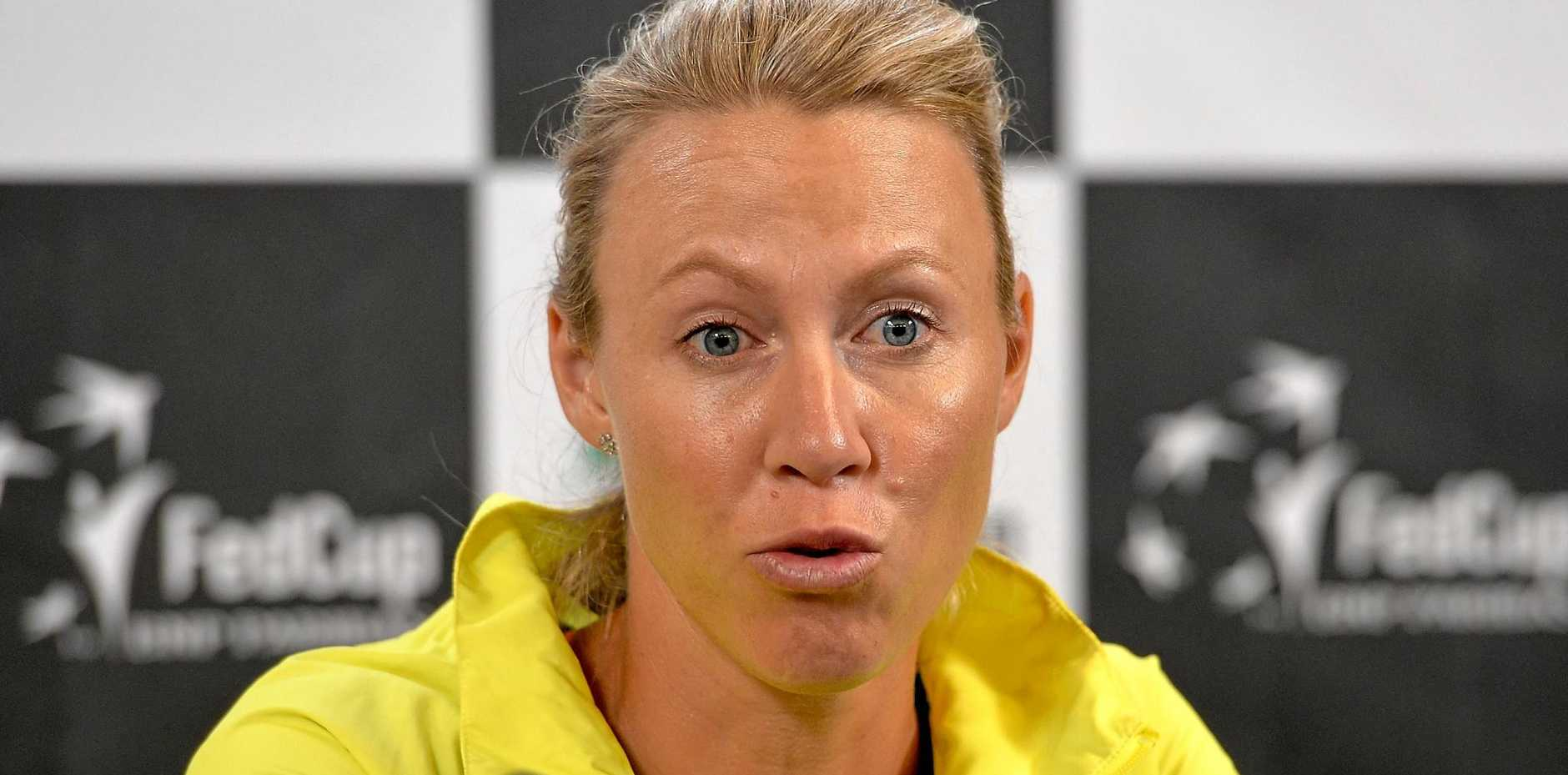 Australian captain Alicia Molik says her team can shake it up in the Fed Cup.