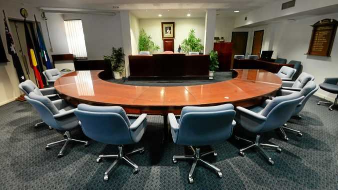 The Bundaberg Council Chambers, Ron Bridges exposes secret dealings.