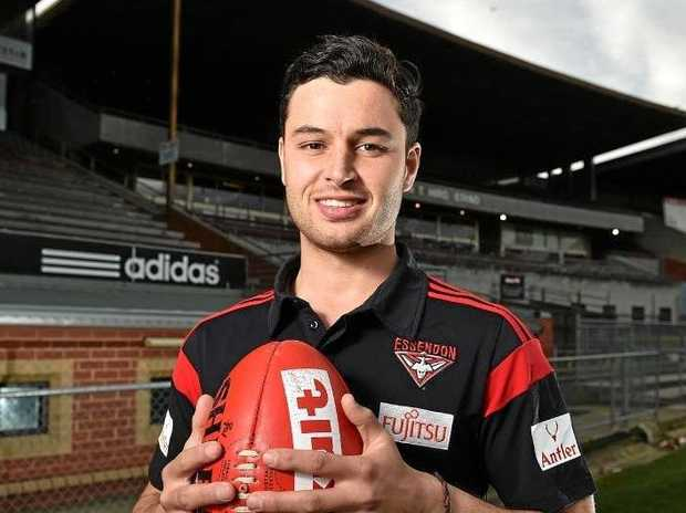 DEBUT GAME: Essendon defender Ben McNiece will play his first AFL game on ANZAC Day