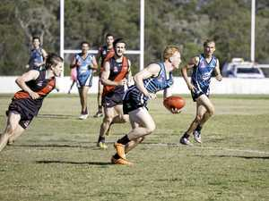 Bragging rights on the line in Hervey Bay's AFL derby