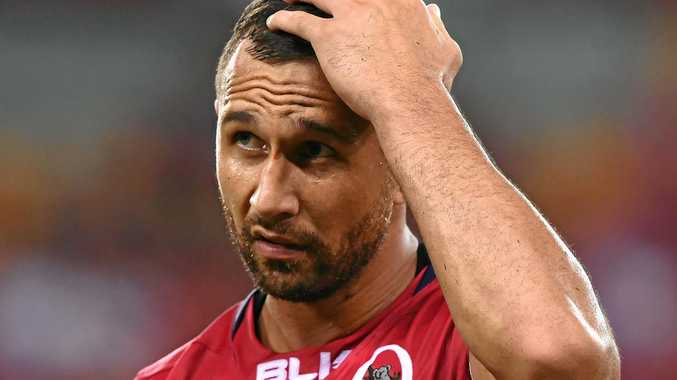 SEARCHING: Quade Cooper says there is excitement in the Reds camp