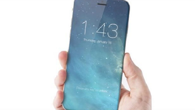 With no physical home button, Apple will remove the TouchID to the rear of the device. Picture: ConceptsiPhone