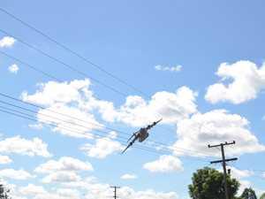 Kumbia Anzac Day flypast