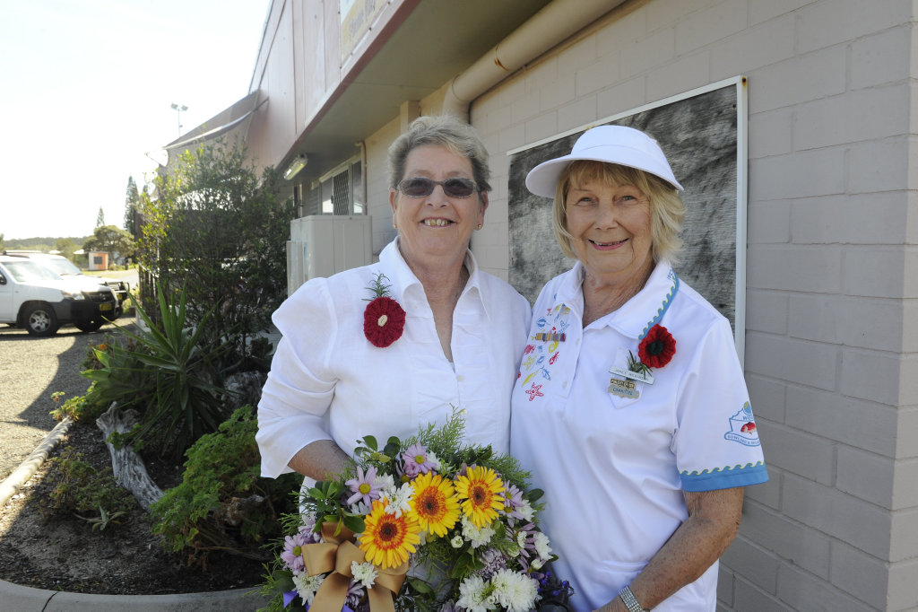 JANICE WILKINSON, Minnie Water and KATHY MCATEER, Wooli: It means that we remember all those who have lost their lives for our country and we appreciate our freedom.