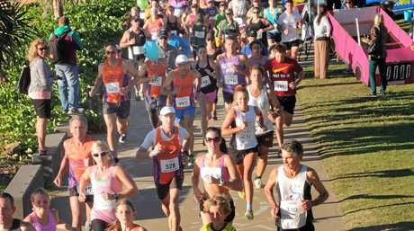 The start of the Jason Rich Foundation Fun Run at Yeppoon on Sunday morning which attracted around 600 competitors.   Photo: Capstoc    [NOT FOR SYNDICATION, NOT FOR RESALE.   USE IN THE MORNING BULLETIN ONLY]