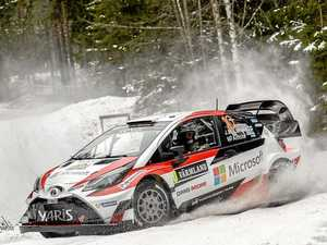 Toyota test runs WRC Yaris on gravel ahead of Argentina
