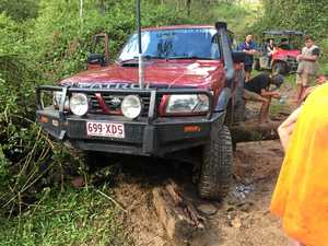 4WD trip gone wrong, four men stranded overnight