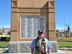 REMEMBERING MATES: Warwick veteran Gordon Nielson will honour the fallen at today's ANZAC Day services.