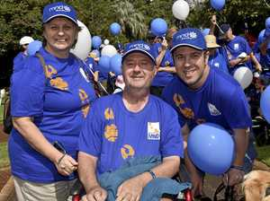 Walk for defeat of disease with no cure