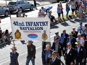 Every school in the Anzac Day parade