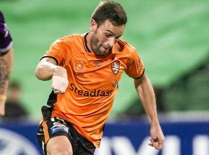 Jack Hingert of the Brisbane Roar.