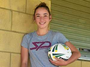 Gympie rugby league player paves the way for young women