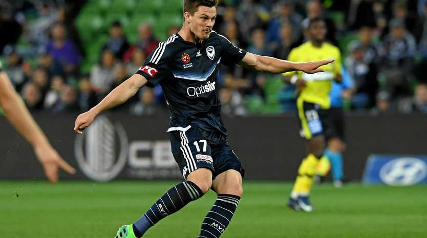 James Donachie of the Melbourne Victory.