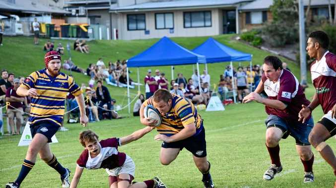 Southern Cross University hooker Kirk Taylor-Brown scored a hat-trick against Casino in FNC rugby union at the weekend.
