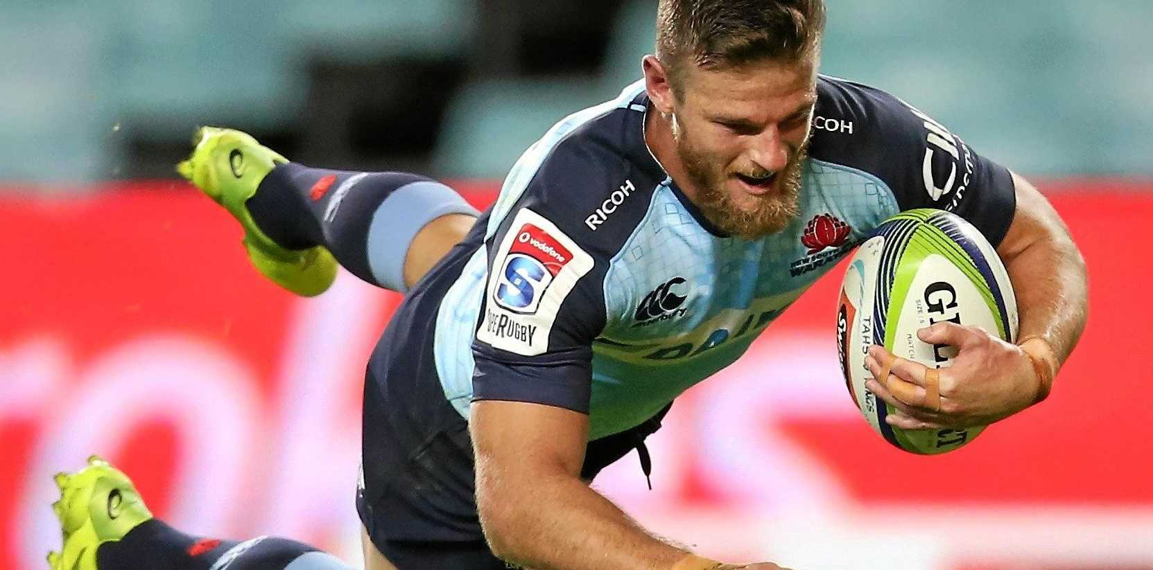 Rob Horne of the Waratahs.