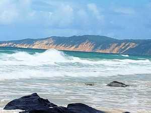 Birthday trip to Rainbow Beach turns life and death