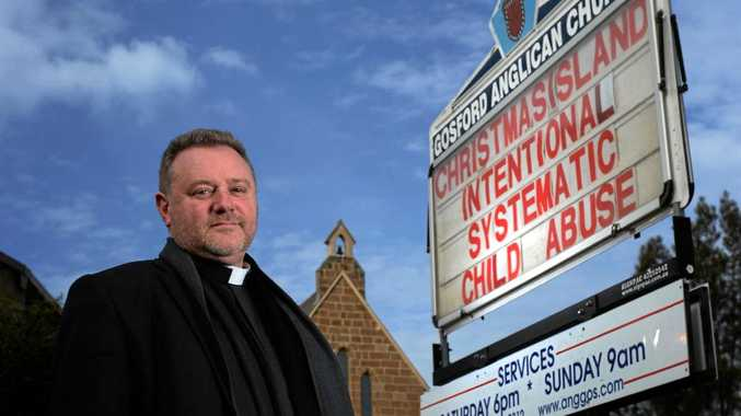 Father Rod Bower of Gosford Anglican Church.