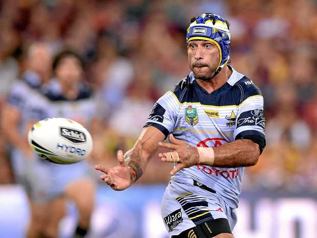 Johnathan Thurston faces a fitness race to be ready for the Anzac Test.