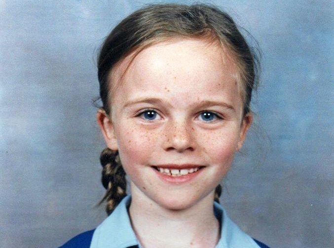 Dalby Herald journo Sophie Volker, aged 7, in her Dalby State School uniform.