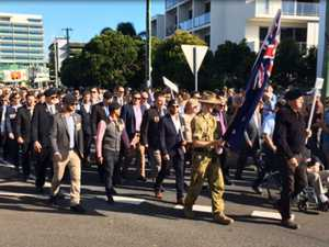 Cotton Tree Anzac Day March