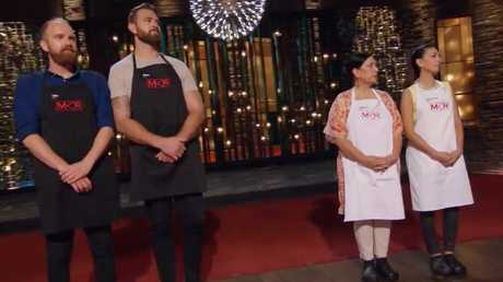 MKR semi final two. Tim and Kyle went up against Valerie and Courtney.